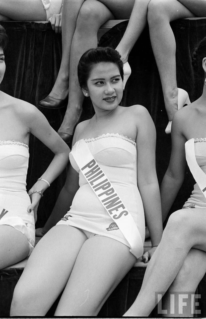 The First Miss Universe Pageant 1952