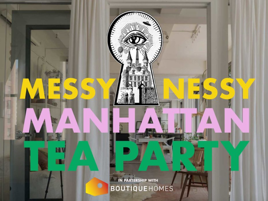 You're invited to the MessyNessy Manhattan Tea Party fit for a Mad Hatter. Mark you calendar to meet us at a secret location on October 28th, ...