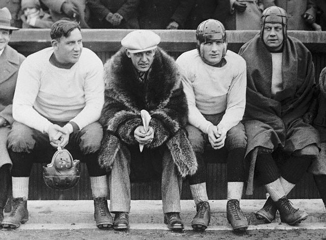 Red Grange Appearing as Professional