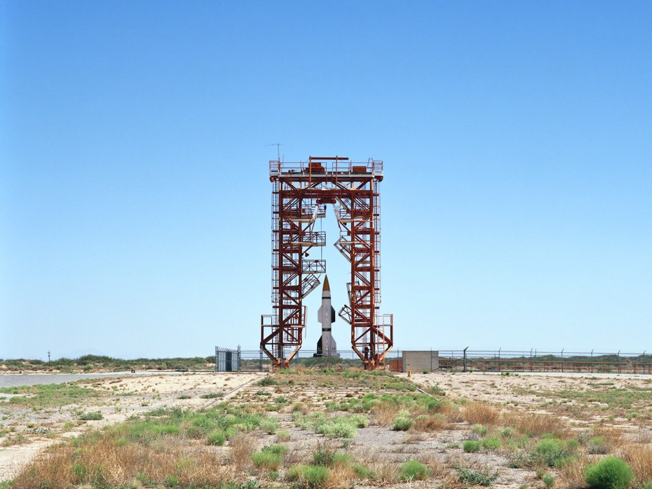 V2 Launch Site with Hermes A-1 Rocket