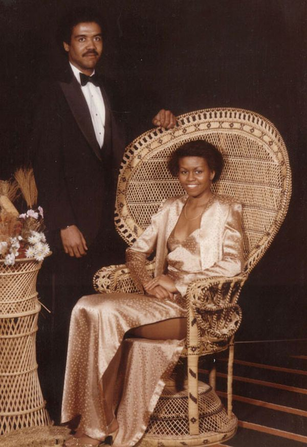 EXCLUSIVE: Michelle Obama with her first boyfriend