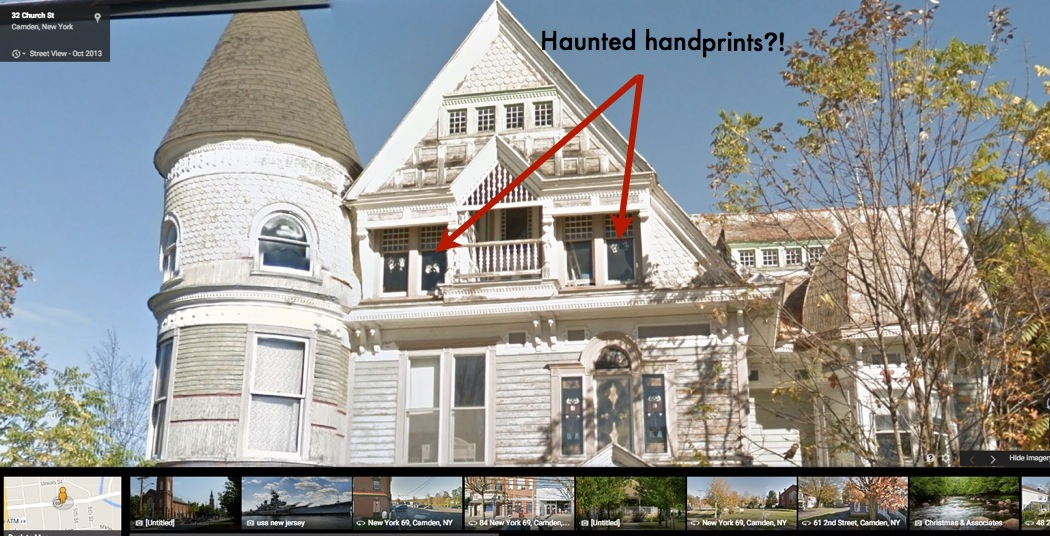 For sale the house haunted by ghosts that google street for Pennsylvania hotel new york haunted