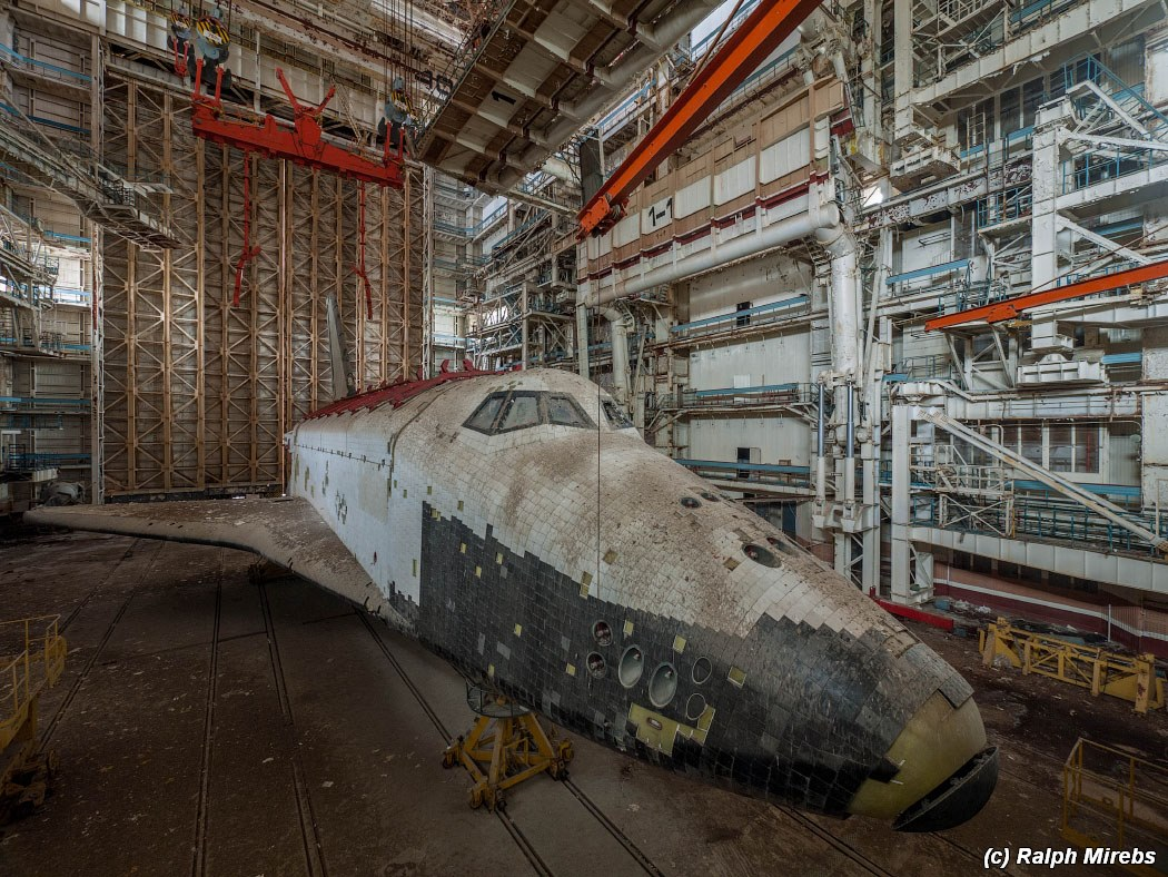 The Abandoned Soviet Space Centre Complete with Two Unfinished Spacecrafts Inside