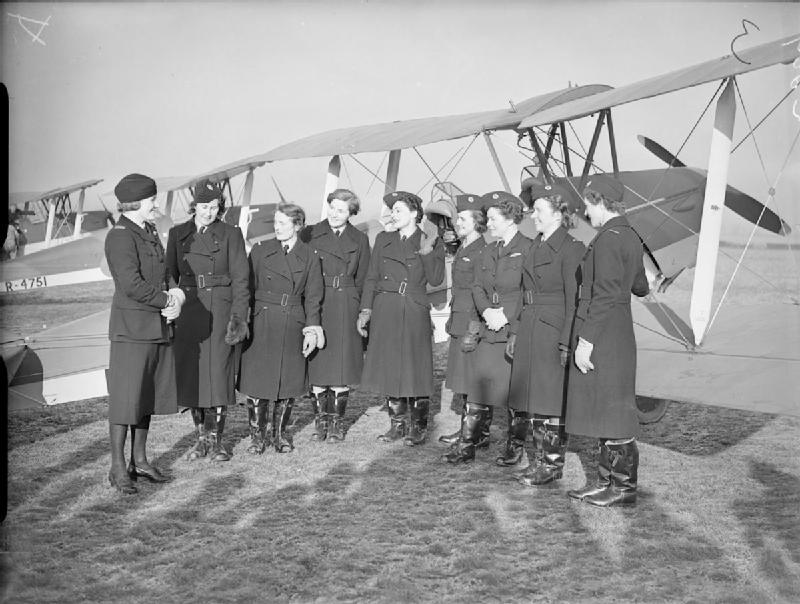 Pauline Gower with the original eight