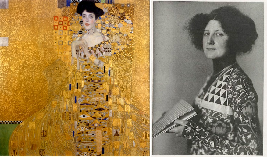 9f77bdbb9613d Dressing the Woman in Gold: The Unknown Bohemian Designer behind the ...