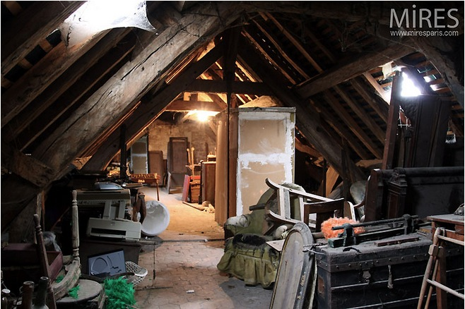 Here 39 s a catalog of secret paris filming locations used by french industry scouts - Setting up an attic apartment ...