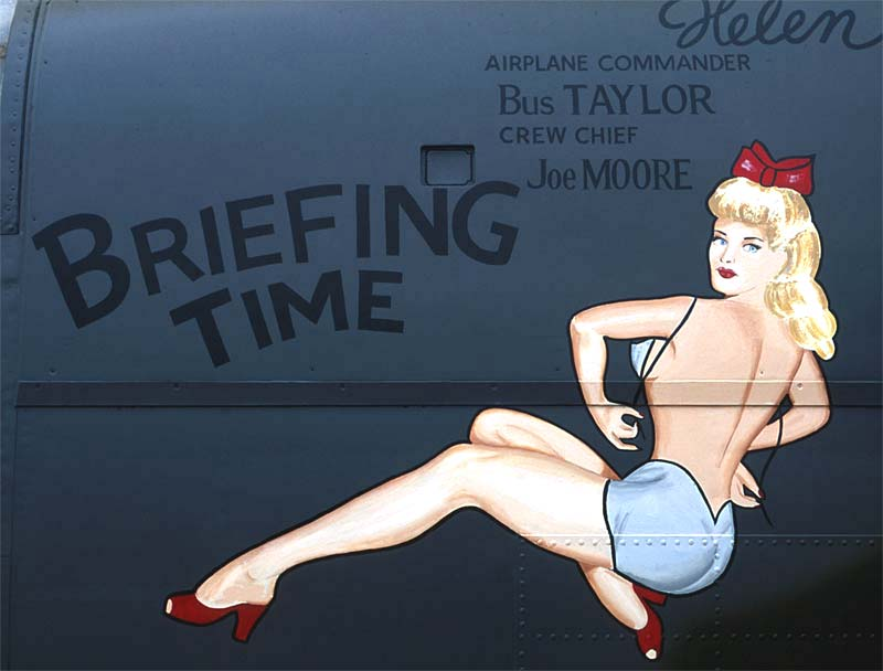 Nose Art Pin Ups Decals model airplane pin up girls tiny