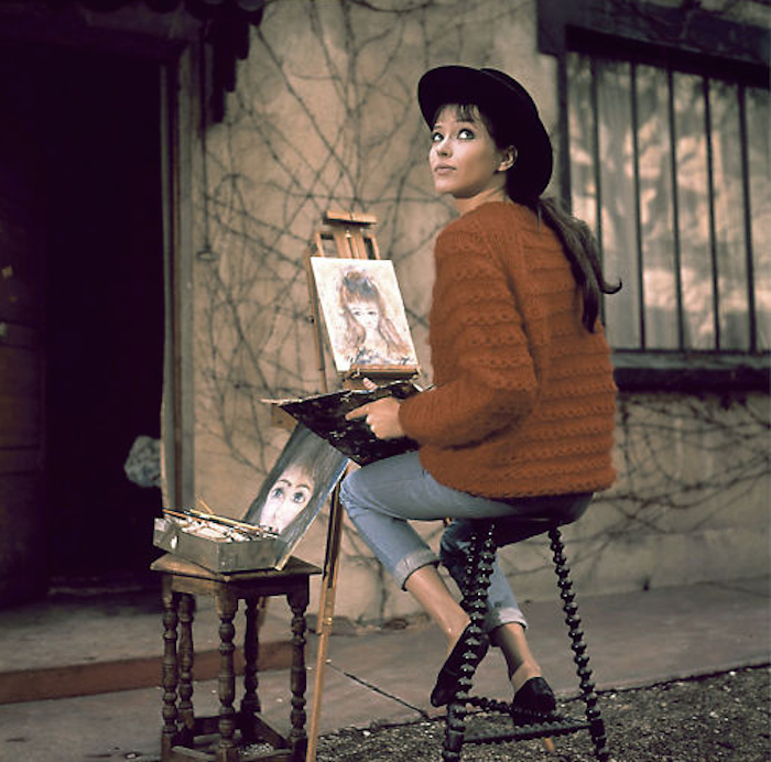 Anna-Karina-hat-and-sweater