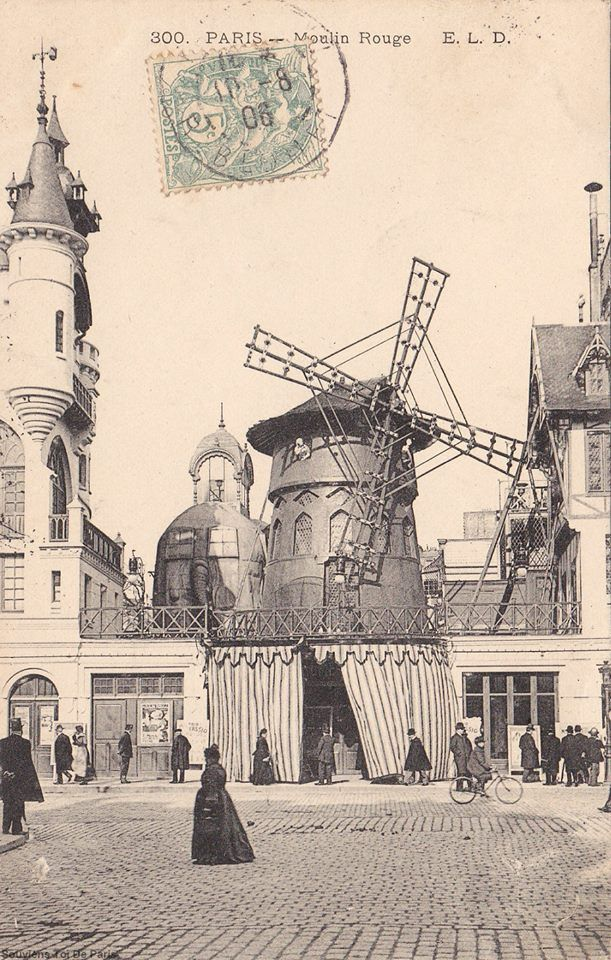 The Forgotten Elephant Of The Moulin Rouge Garden Party