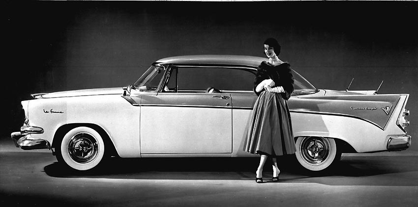 Okay Don T But I Bet You Would If Picked Up In The Sassiest Car That Ever Was 1956 Dodge Lafemme Between 1955 And