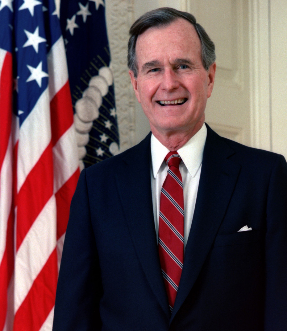 That Time President George H W Bush Escaped Cannibals