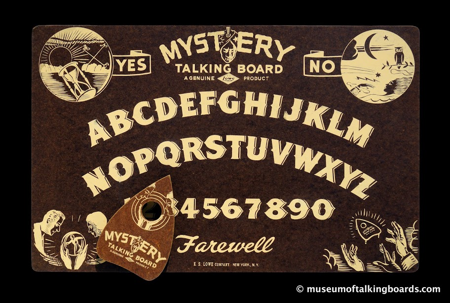 Mystery Talking Board-Lowe MTB-FTB-45