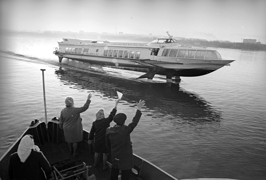 River rockets of the soviet space age for Passengers spaceship