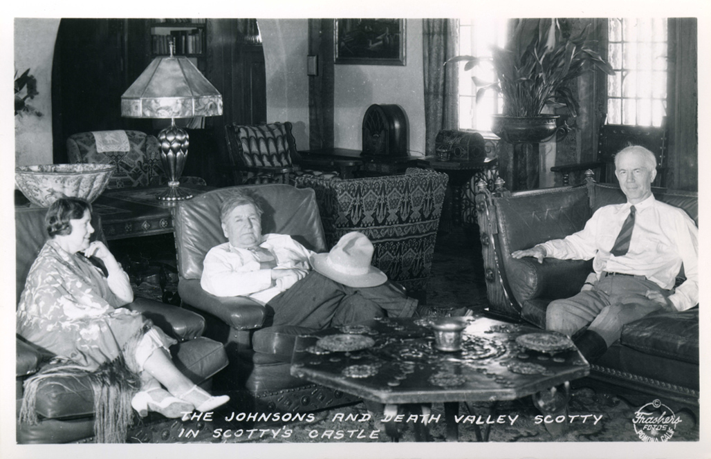 The_Johnsons_and_Death_Valley_Scotty_Scotty's_Castle_Death_Valley_CA