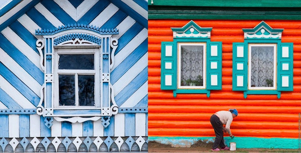 The Disappearing Romance of Russia's Window Art