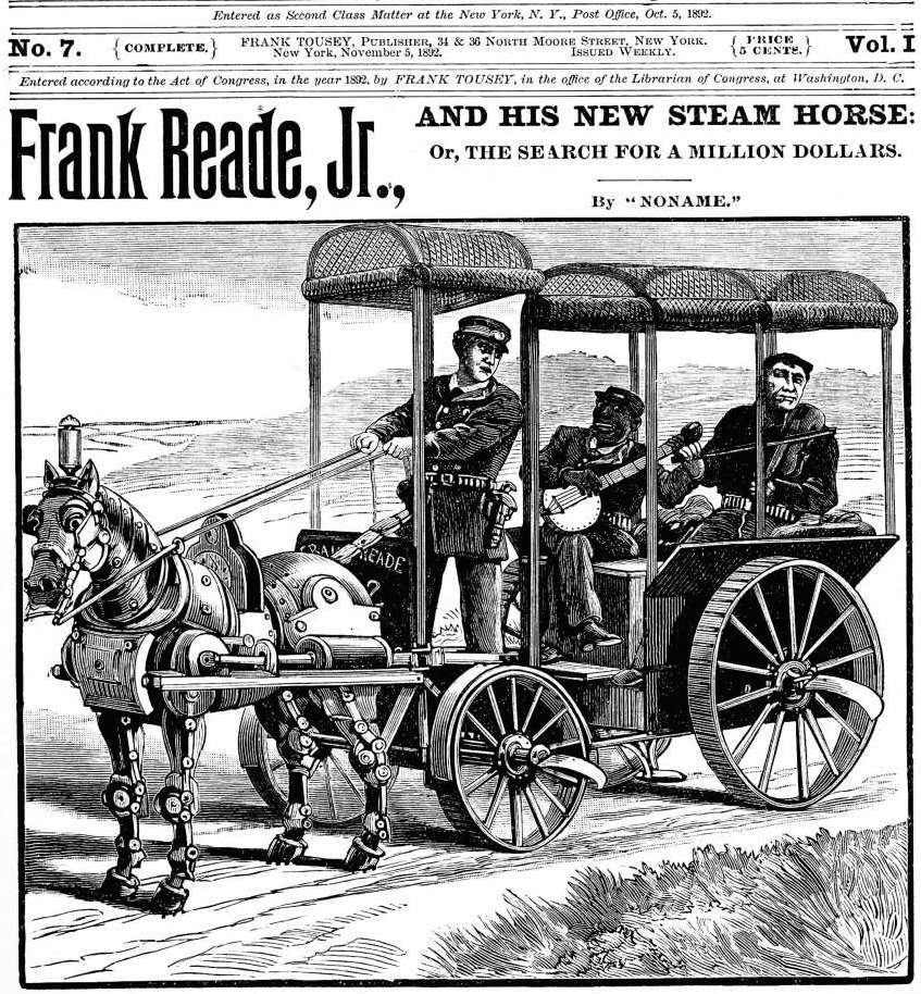 「FRANK READE LIBRARY」の画像検索結果