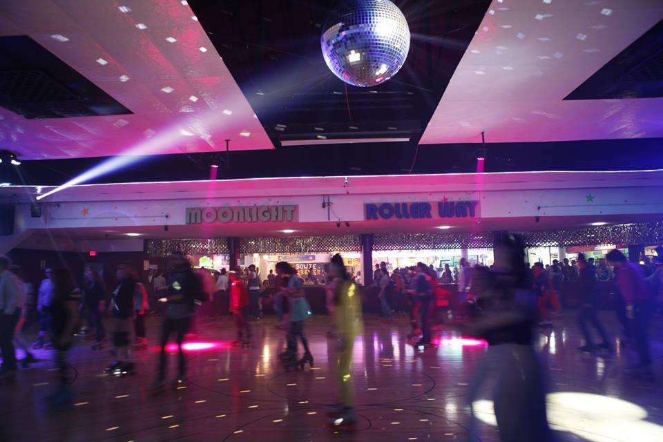 Date Night At The Moonlight Rollerway