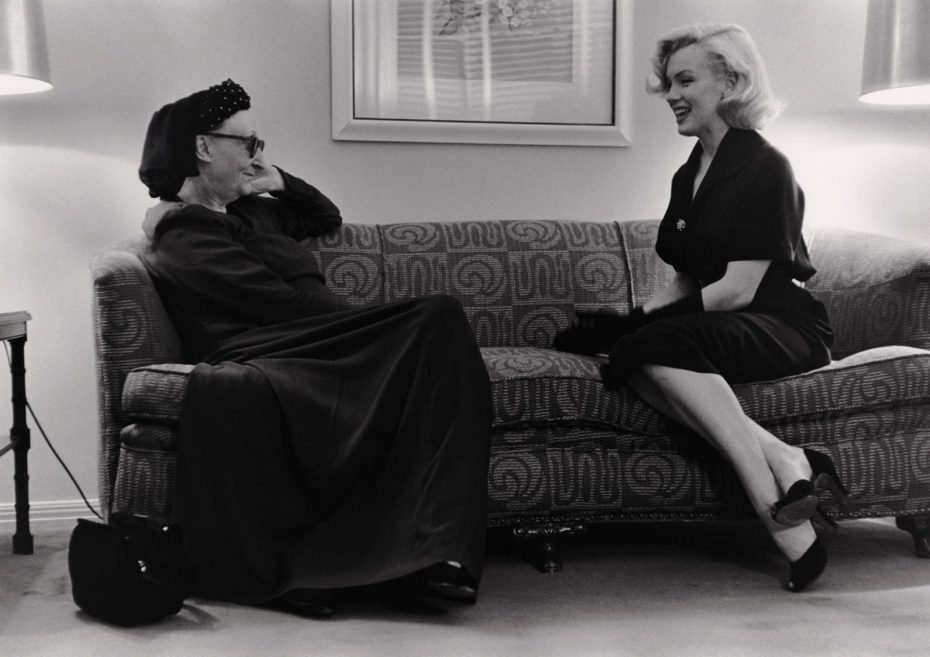 edith-sitwell_marilyn-monroe_george-silk