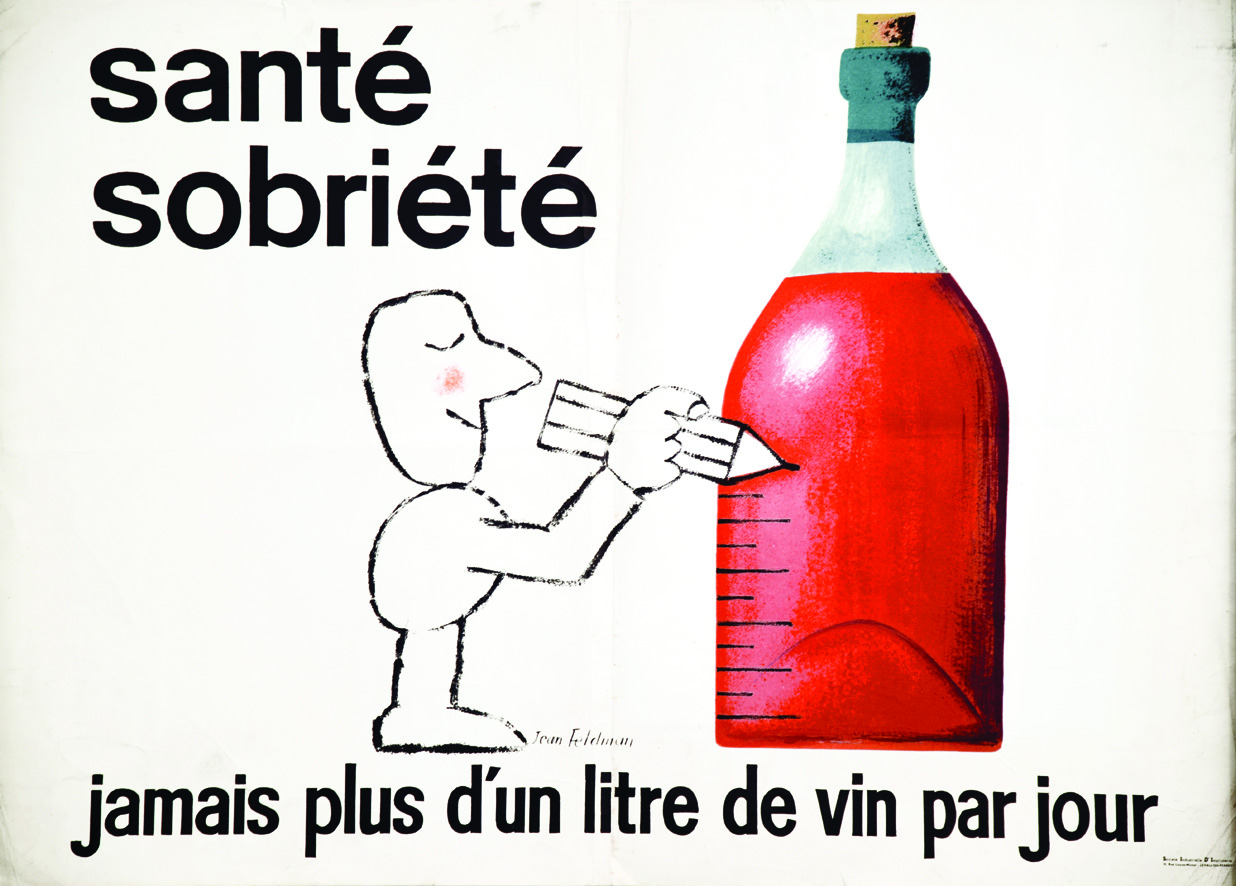 No More Than a Litre of Wine a Day, Recommends a 1950s