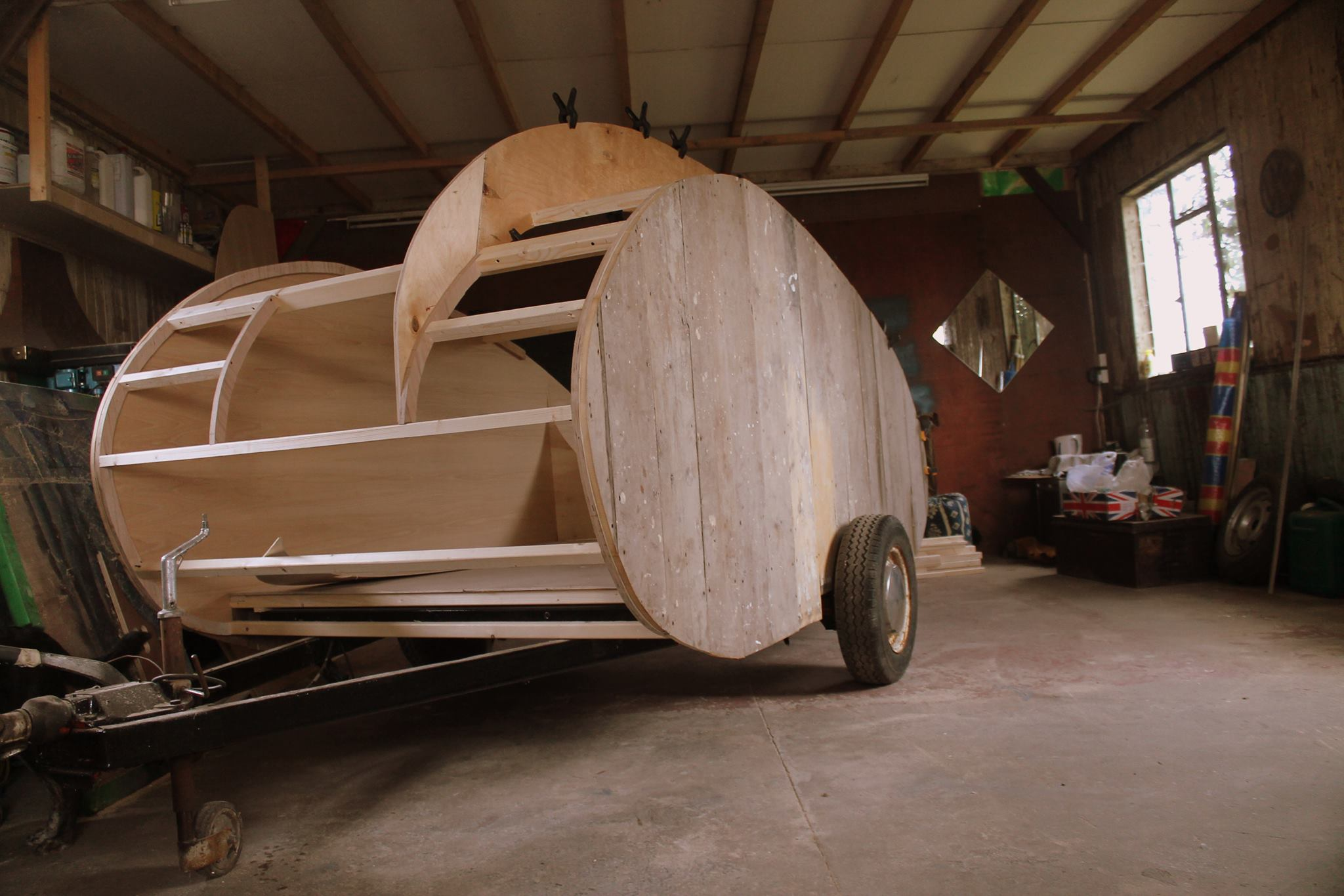 And Now, a DIY Steampunk Trailer fit for Travelling the