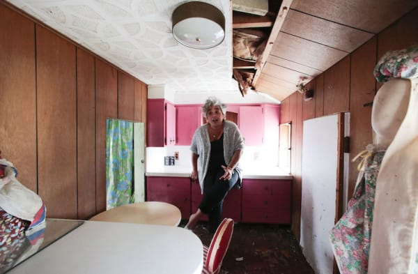 Anna Jones in the kitchen area in the Brick Midget House in Brick, NJ 4/30/15 (William Perlman | NJ Advance Media for NJ.com)