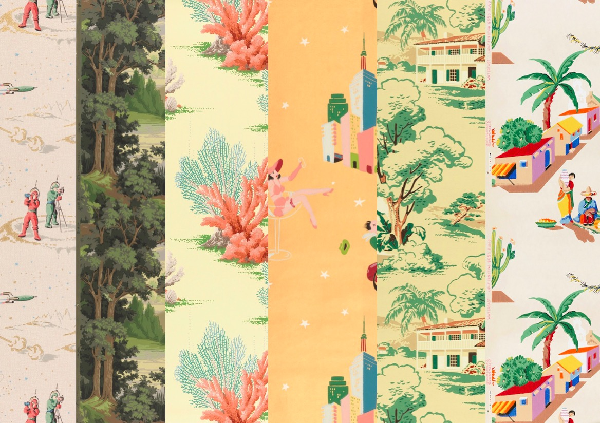 She Spent her Life Hunting for Lost Wallpaper