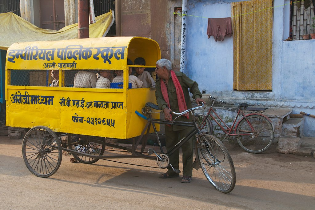 The Tin Can School Buses Of India