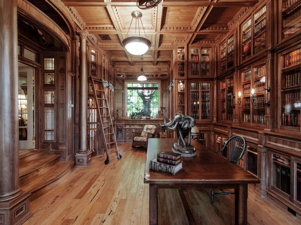 Victorian Style Mansions Stop Everything And Check Out This Homemade Bespoke Library