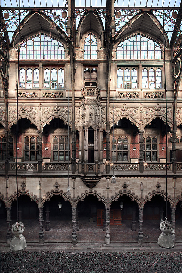 trade frozen in time at the old antwerp stock exchange