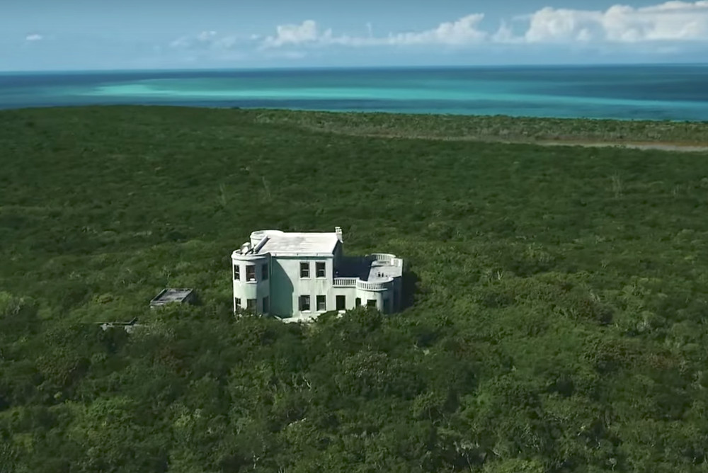 Private Island Complete with an Abandoned