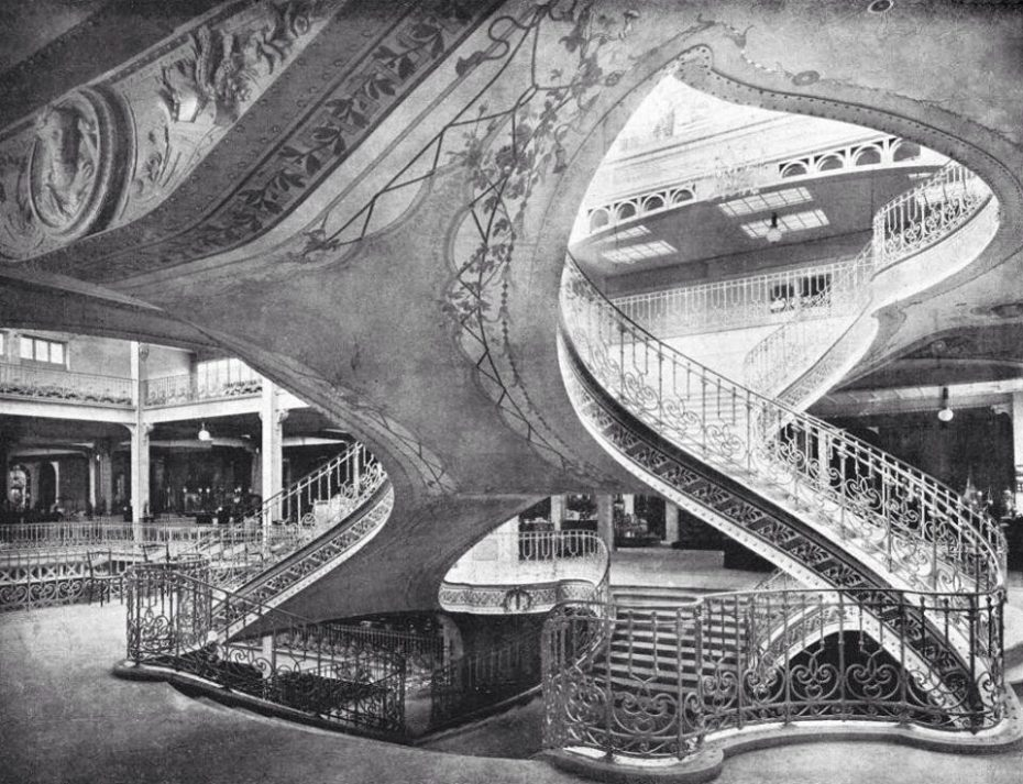 Central Staircase in the Grands Magasins Dufayel