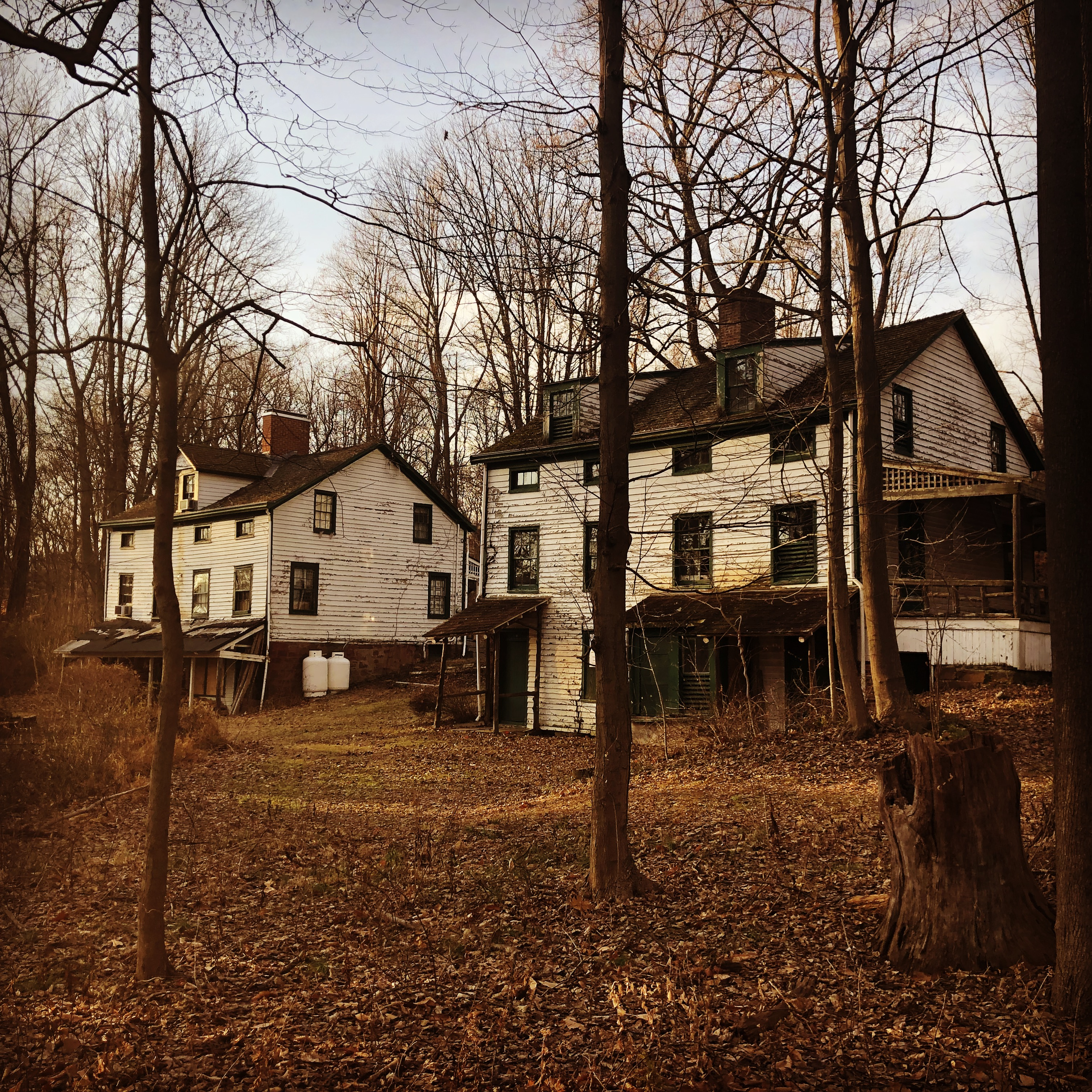 A Deserted Utopian Village in a New Jersey Forest on