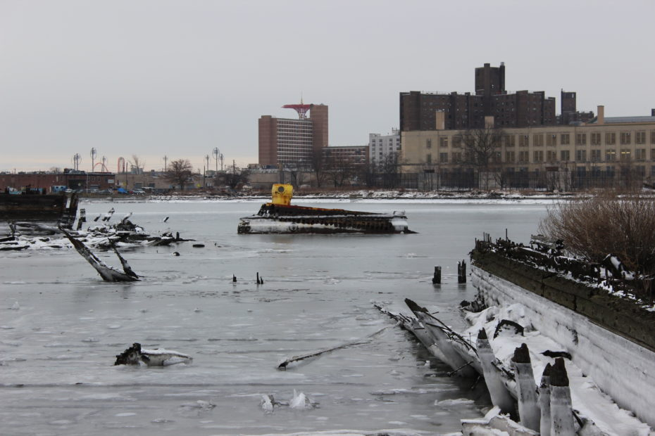 J S Auto Salvage >> The Mystery of Coney Island's Abandoned Submarine
