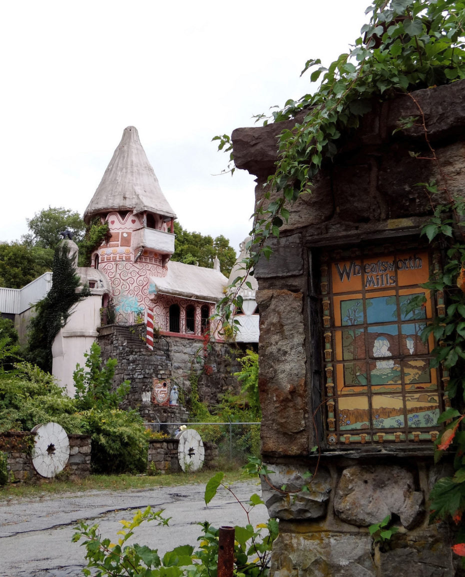 Oh, Just An Abandoned Real-Life Gingerbread Castle To