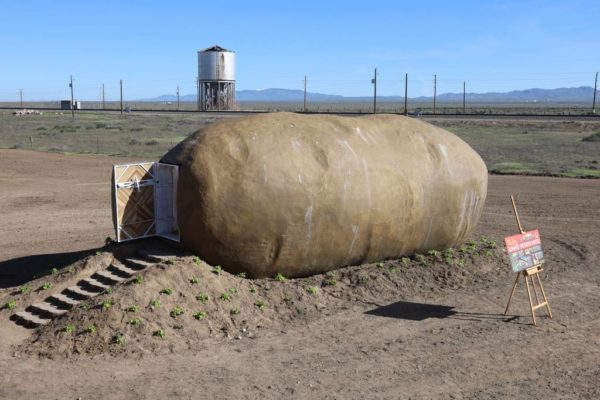 Don't Judge this Potato Hotel by its er, Skin