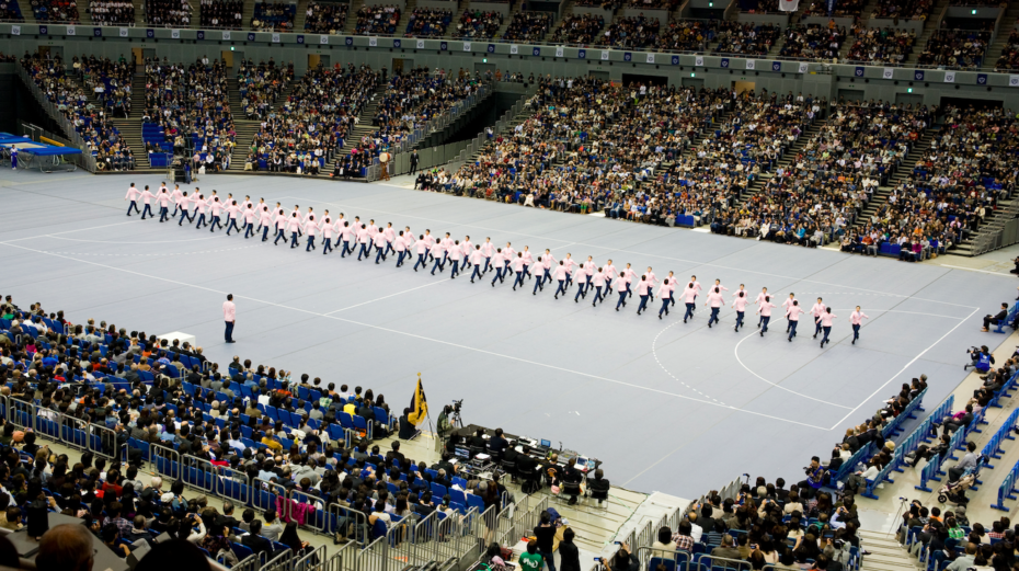 Where has the Japanese Art of Synchronised Walking been all our Lives?