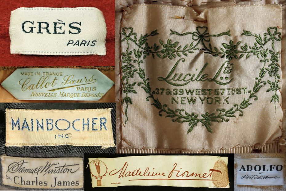 Sleeping in the Archives: The Met's Forgotten Fashion Brands