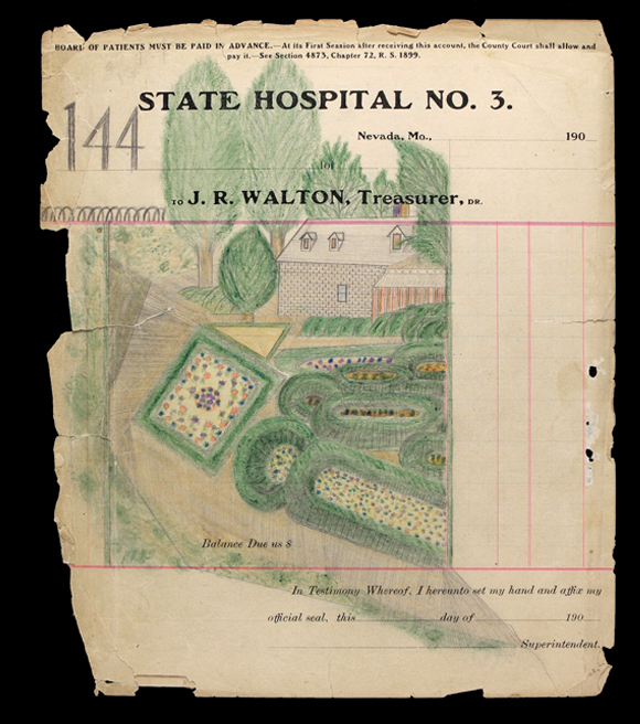 The Curious Case of the Notebook from State Lunatic Asylum No.3