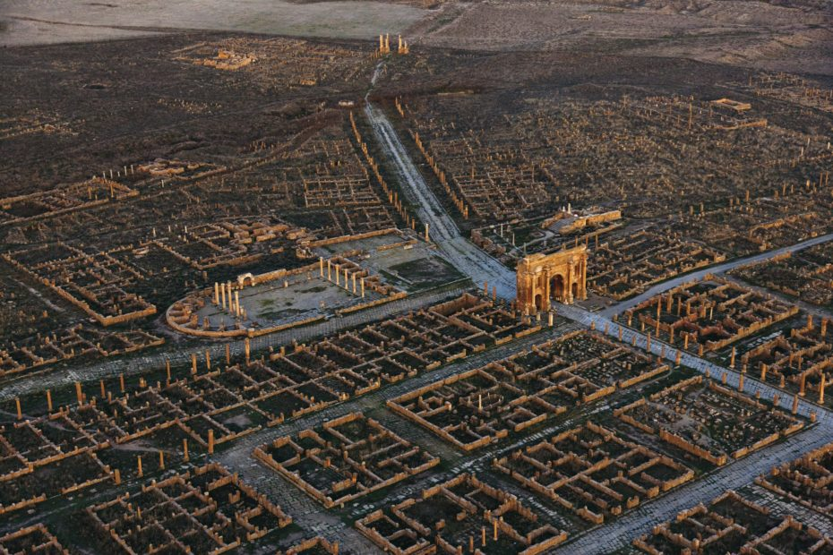 Buried in Sand for a Millenia: Africa's Roman Ghost City