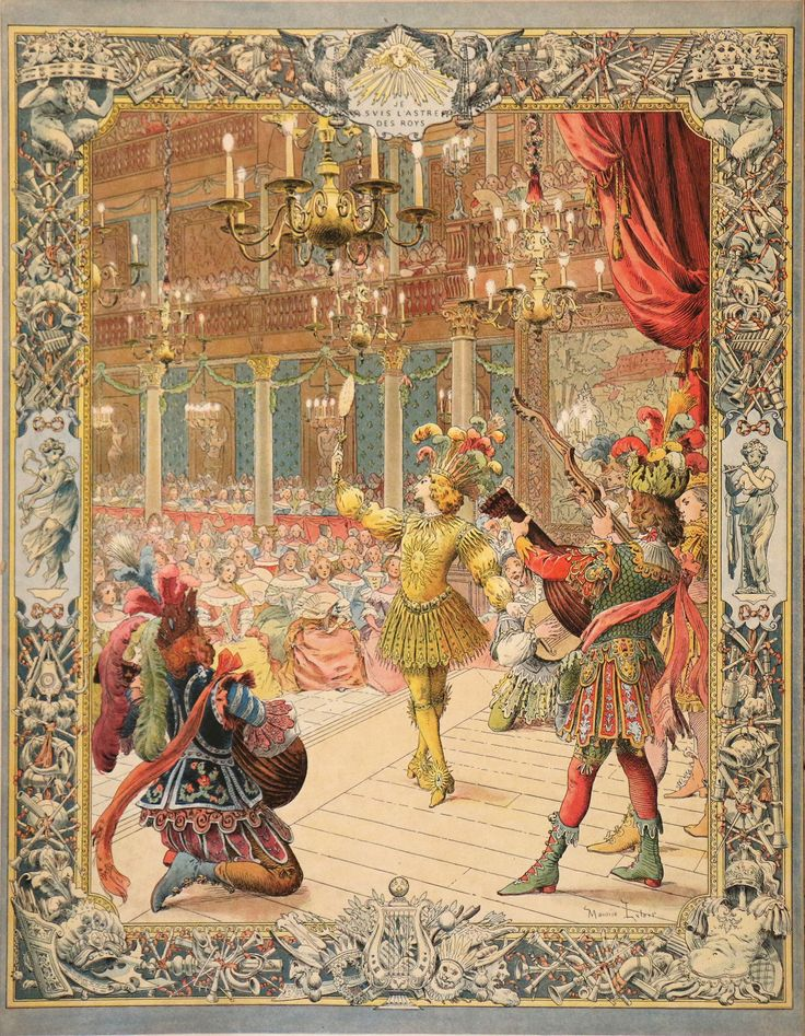Men In Tights And Tutus The Decadence Of The Sun King S Male Ballets